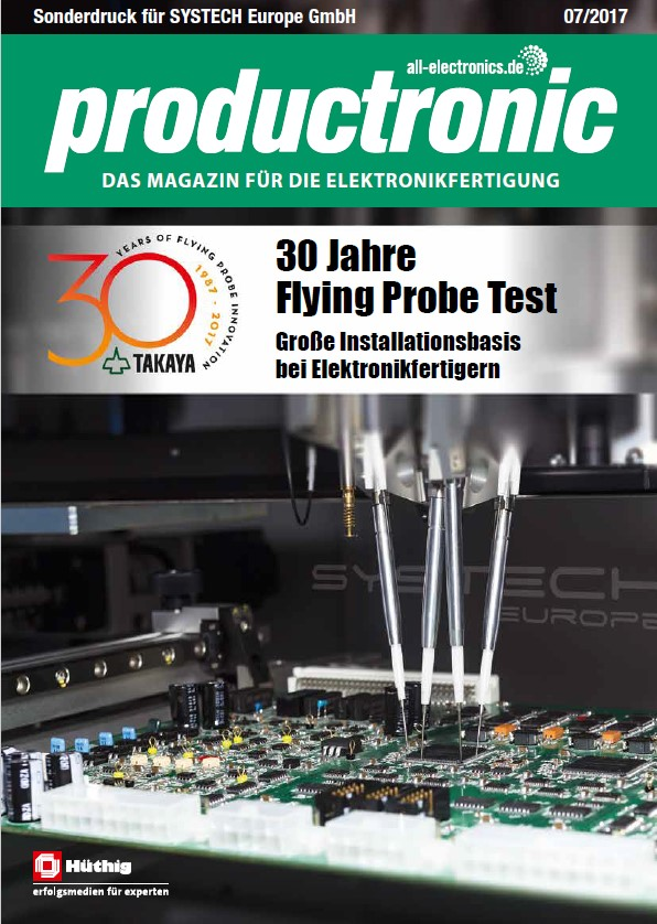 Titel 30 Jahre Flying Probe Test